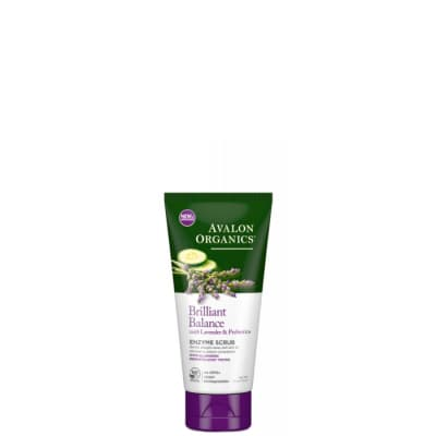 Avalon Organics Lavender Luminosity Exfoliating Enzyme Scrub - Avalon Organics скраб энзимный для кожи лица с лавандой